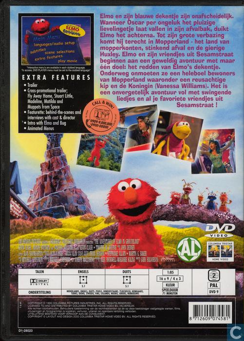 Elmo Grouchland Dvd Spanish