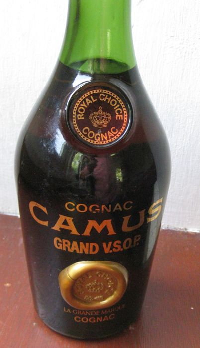 Oude Fles Cognac Camus Catawiki