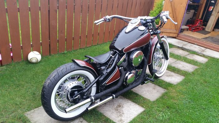 Custom Retro Bobber Vn 800 1996