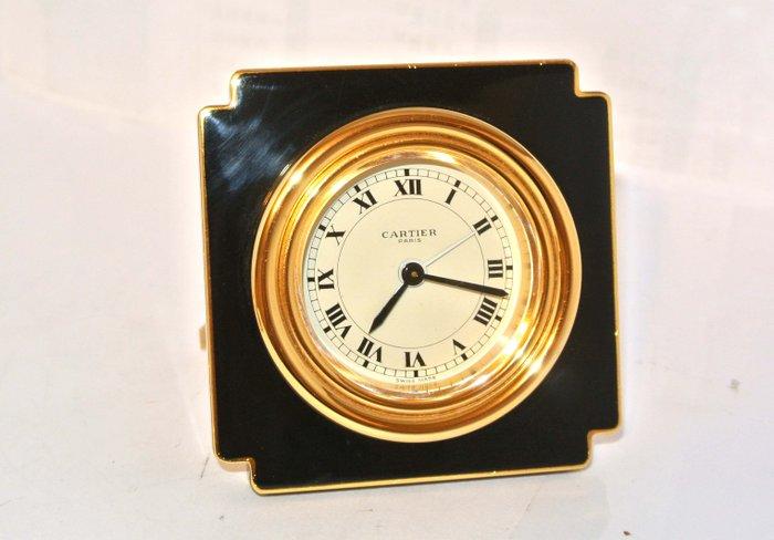 cartier pendulette de voyage reveil horloge de bureau