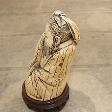 rare statuette chinoise en ivoire avant
