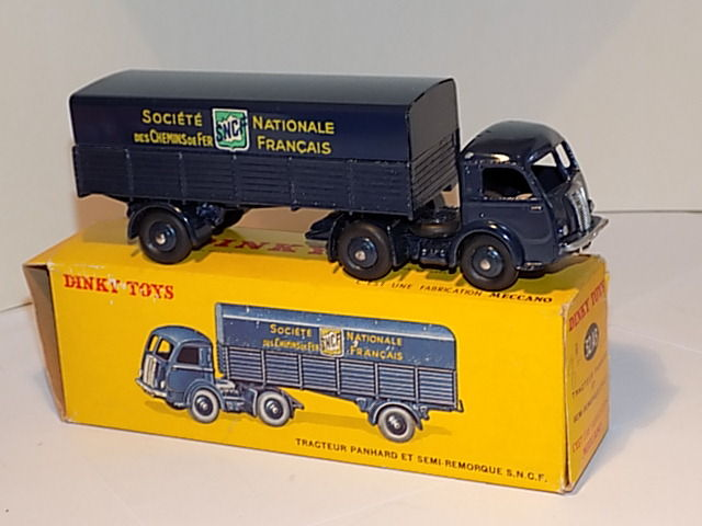 Dinky Toys Chelle 148 Tracteur Panhard Et Semi