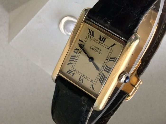 CARTIER TANK watch number  072479   Catawiki CARTIER TANK watch number  072479