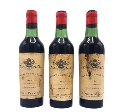 Image result for CHÂTEAU CHEVAL BLANC 1947