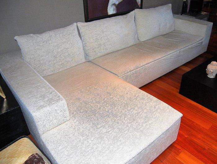 armani casa sofa and chaise longue