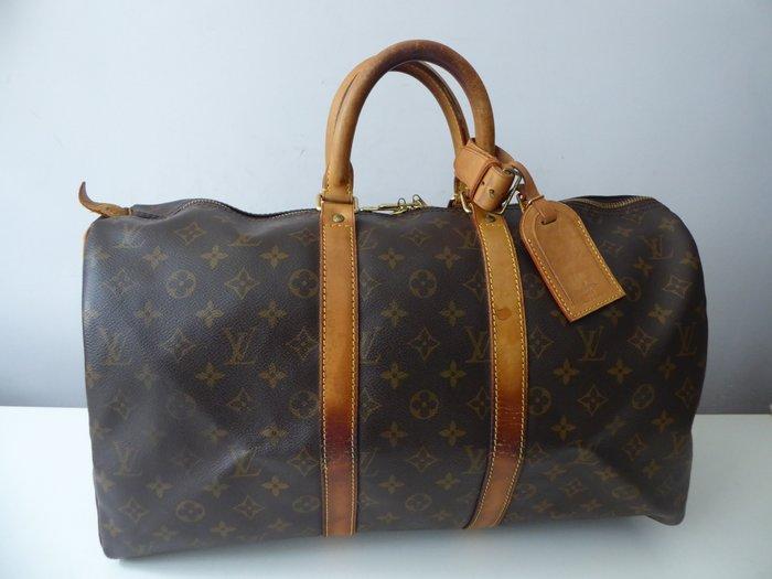 220aae84969a Vintage Louis Vuitton Keepall 45 Travel Bag Catawiki