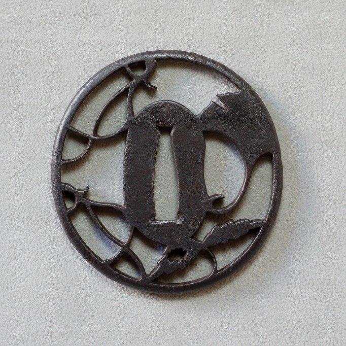 Tsuba - Steel - Japan - Edo Period (1600-1868) - Catawiki