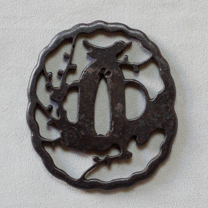 Tsuba (1) - folded steel - Japan - Edo Period (1600-1868) - Catawiki