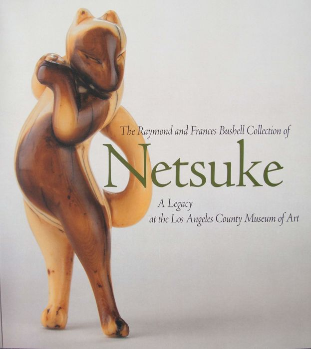 Book - Collection of Netsuke The Raymond and Frances Bushell Collection - 820 full color photos on 552 - Japan - 2003