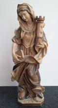 Bescherm - Heilige Barbara van Nicomedië, mijnwerkers - Catawiki