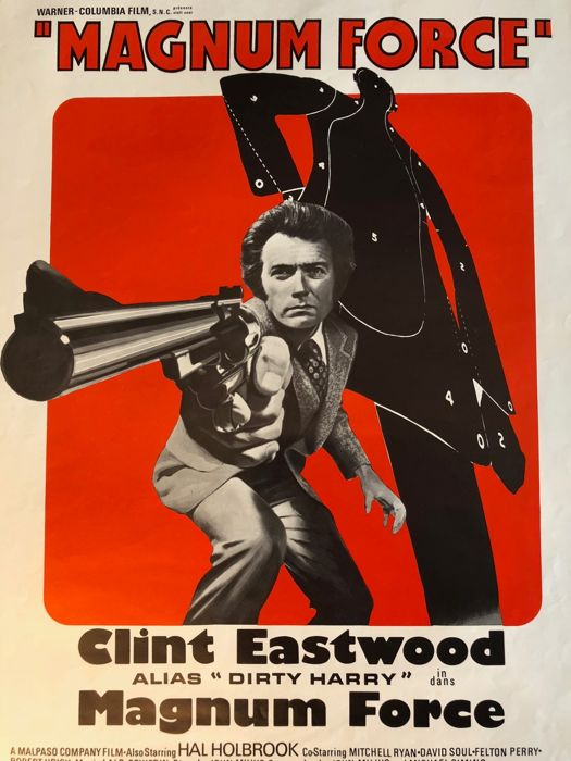 Magnum Force Dirty Harry Movie Poster 1973