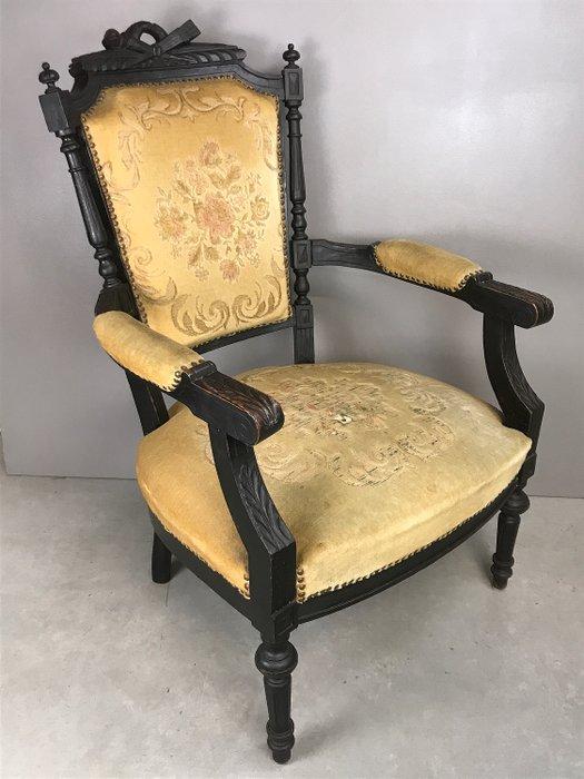 fauteuil napoleon iii style louis xvi