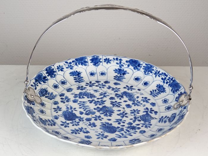 Charger - Mark and Period - Porcelain, Silver - China - Kangxi (1662-1722) - Catawiki
