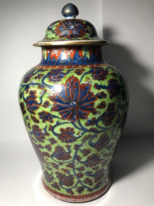 Jar (1) - Porcelain - Amsterdam bont - China - Kangxi (1662-1722) - Catawiki