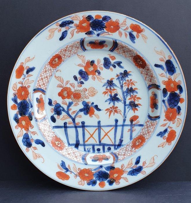 Plate (1) - Imari - Porcelain - Beautiful fully decorated Kangxi Imari plate - China - Kangxi (1662-1722) - Catawiki