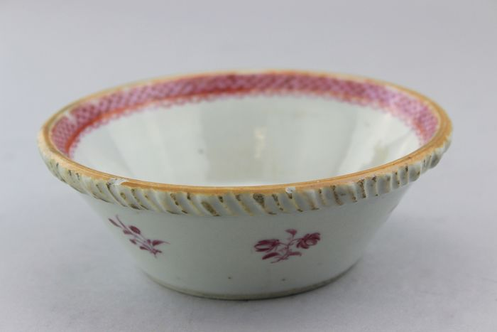 Bowl - Famille rose - Porcelain - Flowers - China - Late 19th century - Catawiki