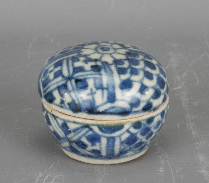 Box - Blue and white, Kraak porcelain - Porcelain - China - Wanli (1573-1619) - Catawiki