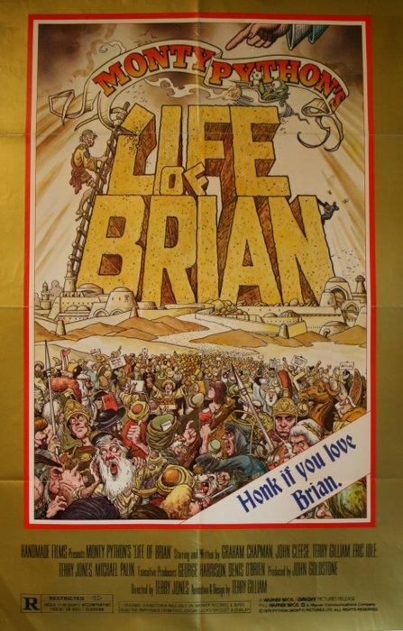 life of brian monty python poster