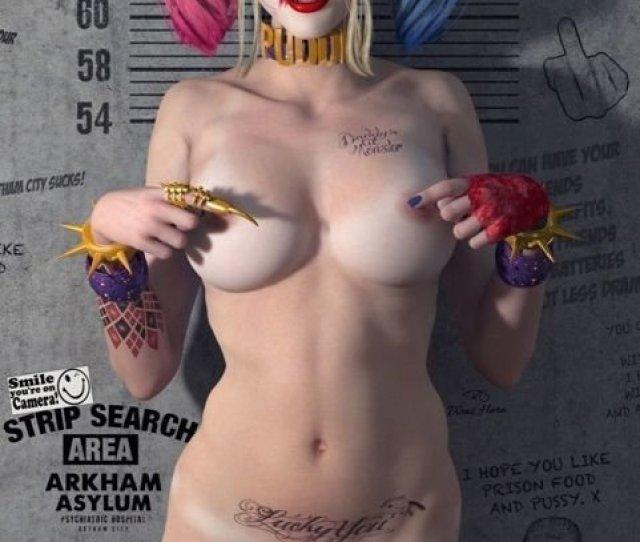 Paul Sutton Sexy Naked Harley Quinn Los Sida Forsta Upplagan 2019