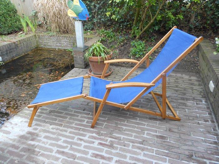 torck chaise longue avec repose pieds