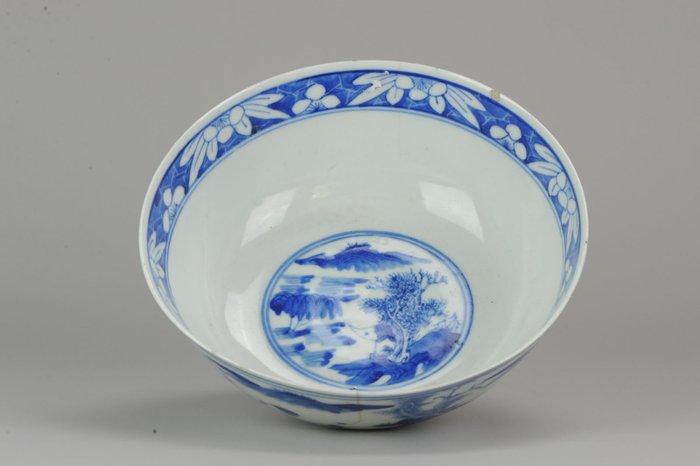 Bowl - Porcelain - Kangxi marked bowl - China - Qing Dynasty (1644-1911) - Catawiki