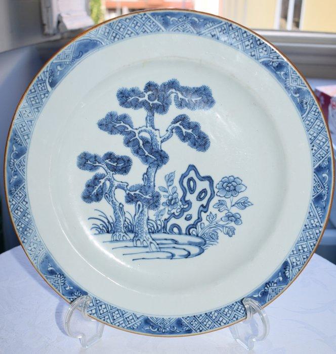 Dish (1) - Porcelain - prato quianlong - China - Qianlong (1736-1795) - Catawiki