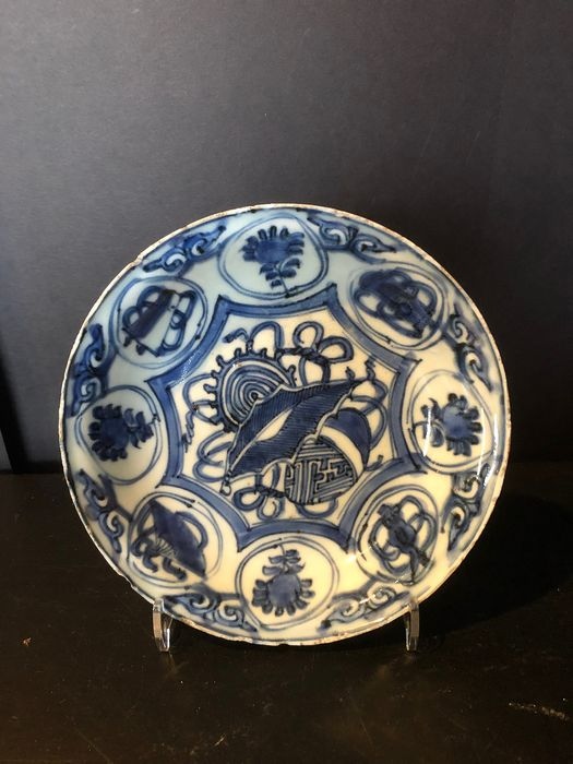 Plate - Blue and white - Porcelain - China - Wanli (1573-1619) - Catawiki