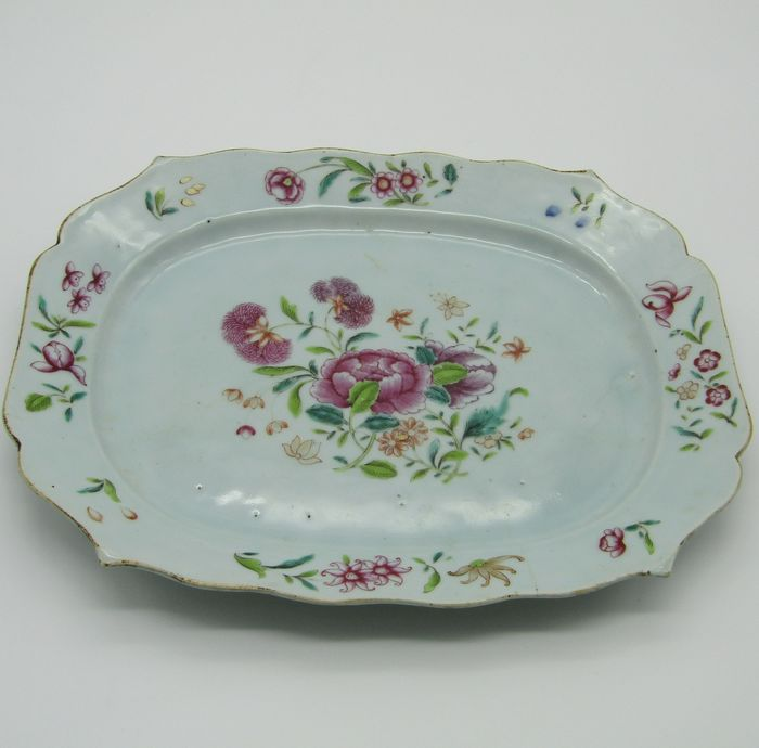 Dish (1) - Famille rose - Porcelain - China - 18th century - Catawiki