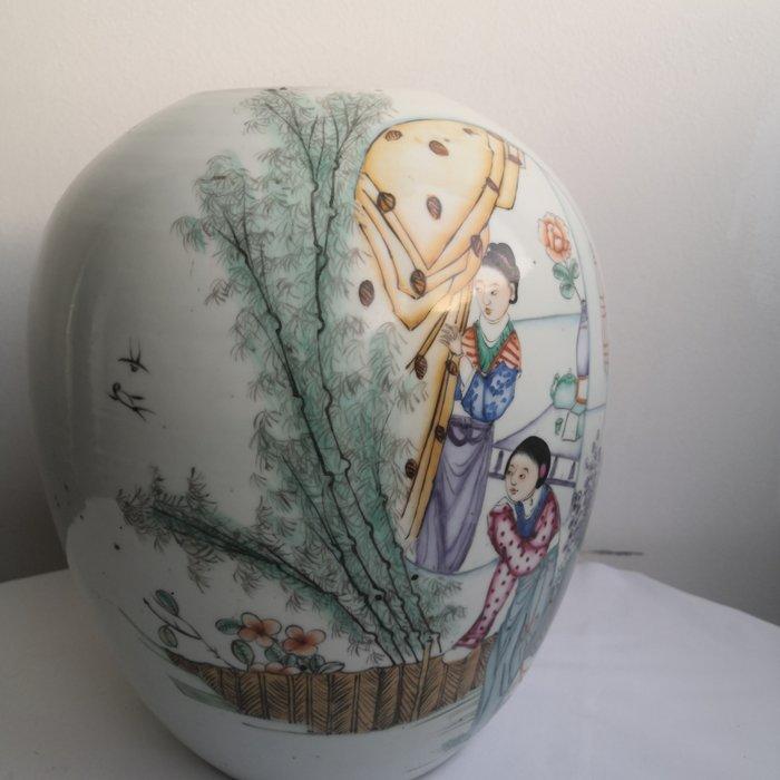 Vase (1) - Famille rose - Porcelain - China - Early 20th century - Catawiki