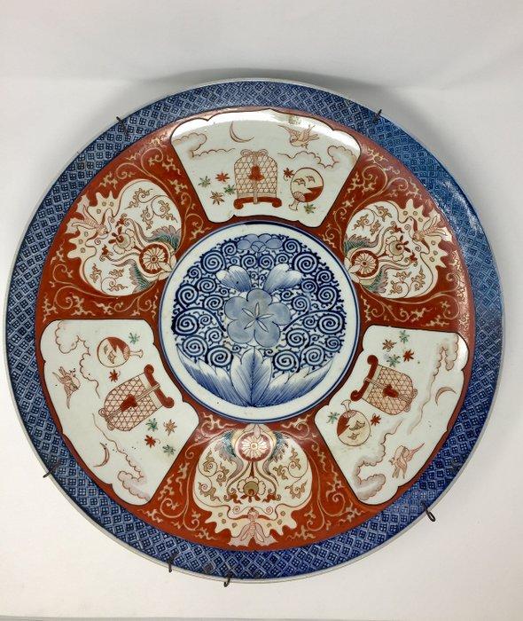 Large Imari plate - Imari - Ceramic - Japan - Late 19th century - Catawiki