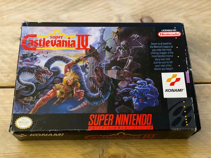 Nintendo Snes Castlevania Iv Super Nintendo Usa In Catawiki