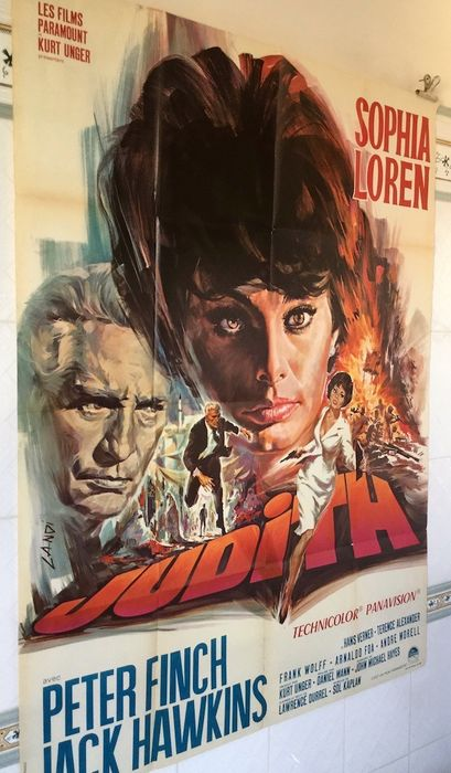 judith 1966 sophia loren poster