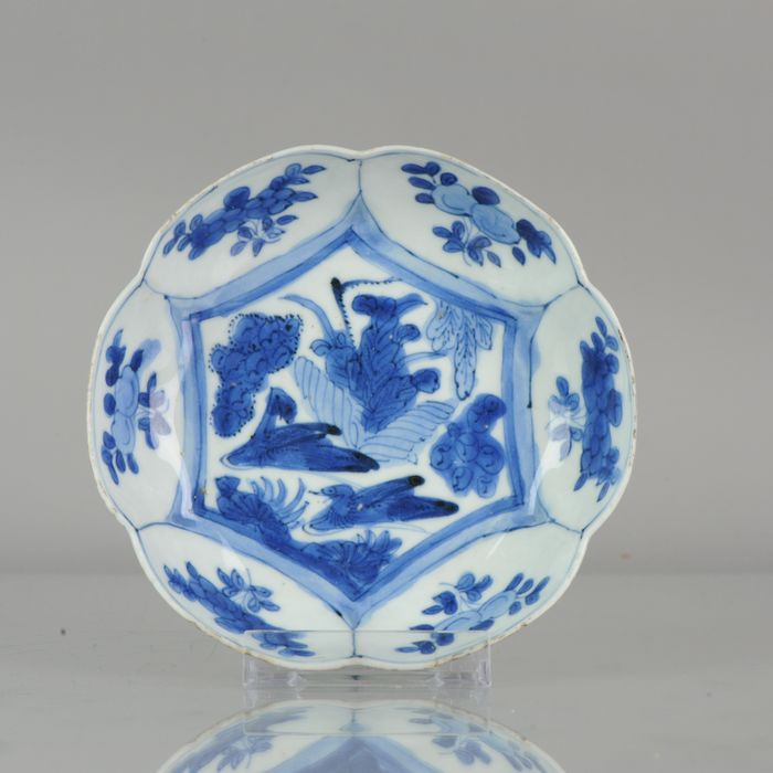 Bowl - Porcelain - Rare chinese porcelain shallow bowl Kraak DUCKS (1580-1590) - China - 16th century - Catawiki