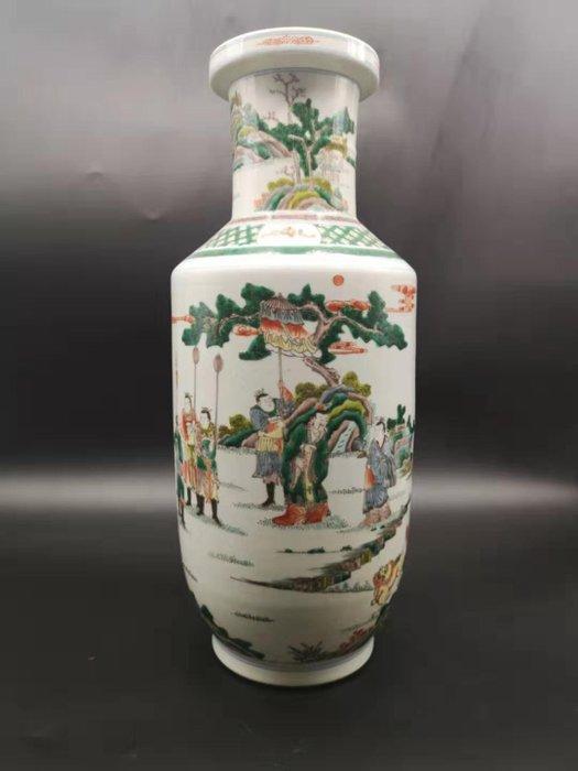 Vase (1) - Famille verte - Porcelain - China - 21st century - Catawiki