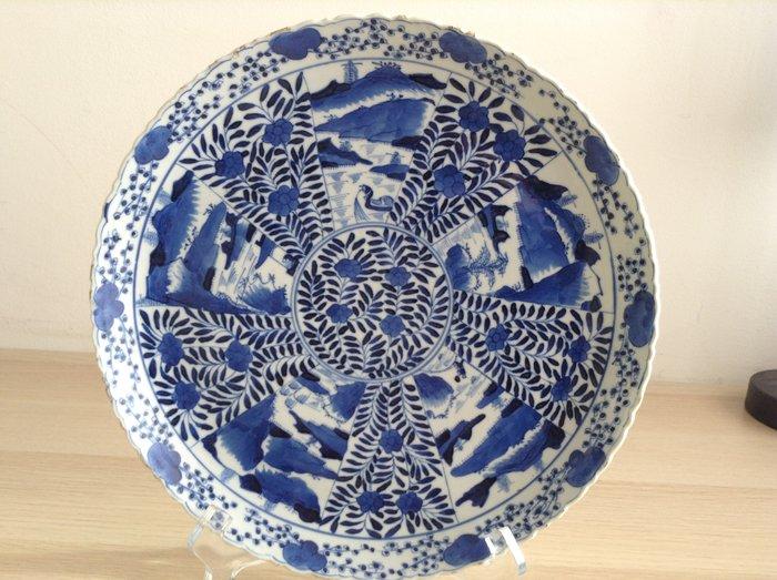 chinese dish kangxi 19th century - Porcelain - China - 19th century - Catawiki