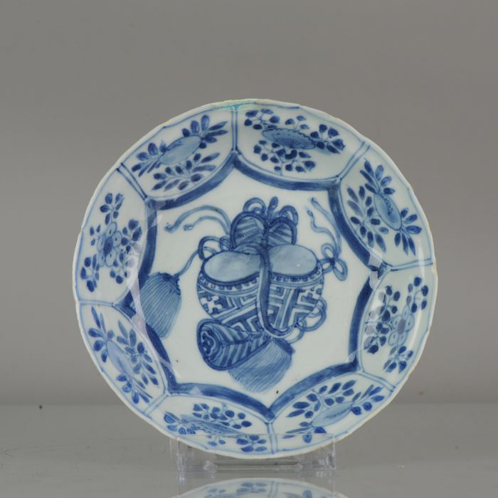 Bowl - Porcelain - Very thin potted Wanli shallow Kraak bowl - China - 17th century - Catawiki