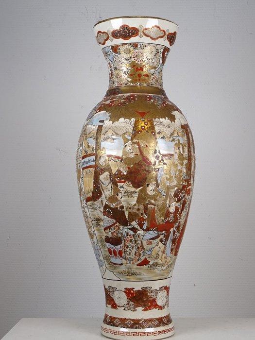 Very large vase with figural decor - Ceramic - Japan - Taishō period (1912-1926) - Catawiki