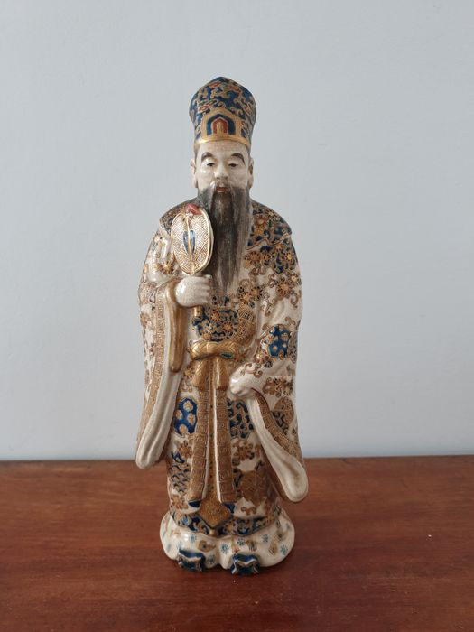 Dignitary figurine - Satsuma - Porcelain - Japan - it. 1920-30s - Catawiki