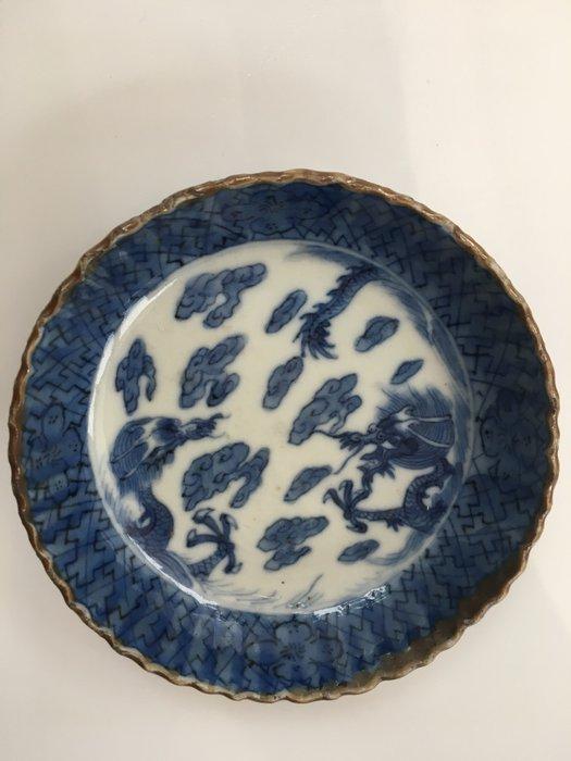 Vessel - white blue porcelain - For the Japanese Market - China - Kangxi (1662-1722) - Catawiki