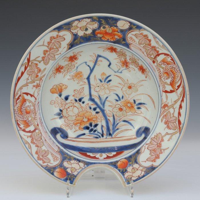 Shaving jars (1) - Imari - Porcelain - Flowers - Japan - Circa 1700