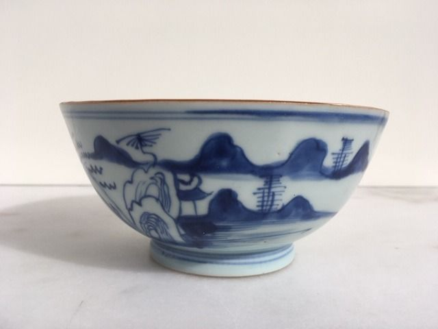 Bowl - Porcelain - China - 17th century