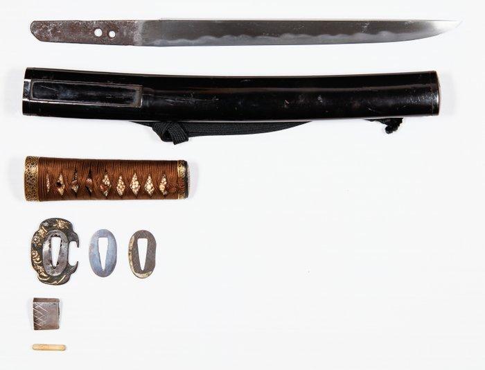 Tanto (1) - Steel - Samurai - Tanto (短刀) - Japan - 16th century