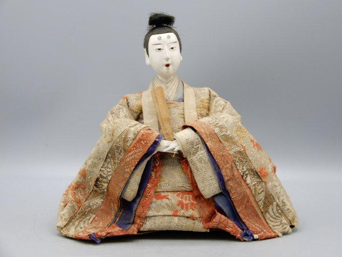Doll, Ningyo - Lacquer, Silk, Wood - Japan - Meiji period (1868-1912)