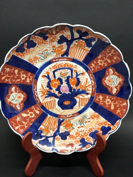 Plate (38cm) - Imari - Porcelain - Japan - Meiji period (1868-1912)