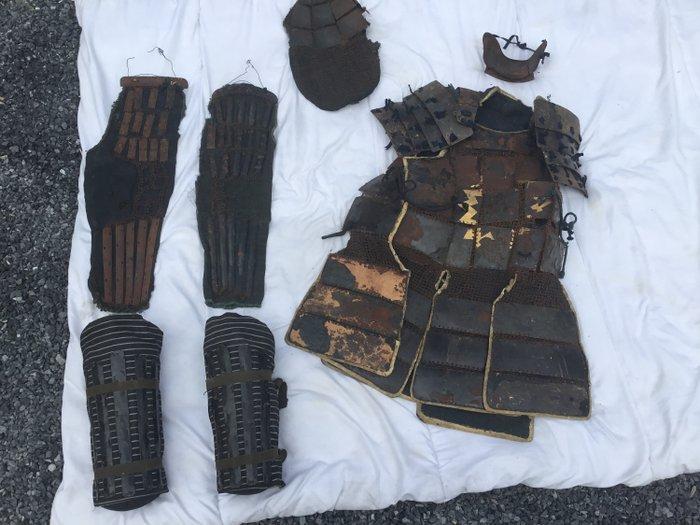 samurai armour - Steel - Samurai - Japan - 18th century