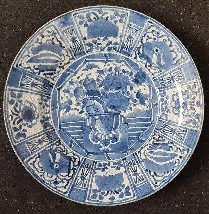 Dish, Plate - Arita - Porcelain - Japan - 17th century
