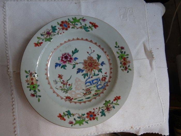Dish (1) - Famille rose - Porcelain - Yongzheng - China - 18th century