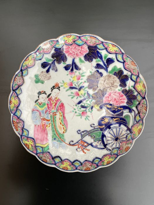 Plate - Porcelain - Japan - Meiji period (1868-1912)