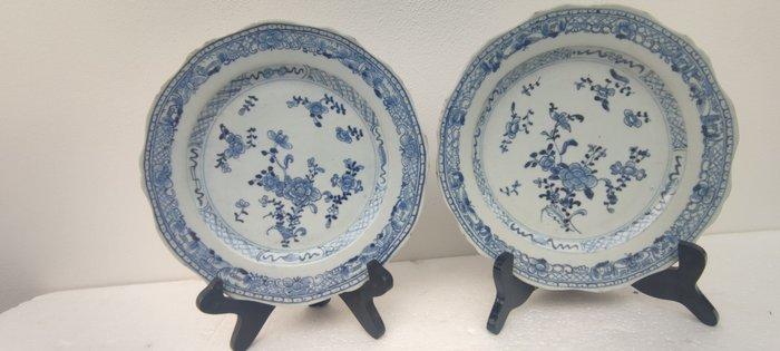 Dishes (2) - Porcelain - China - Qianlong (1736-1795)