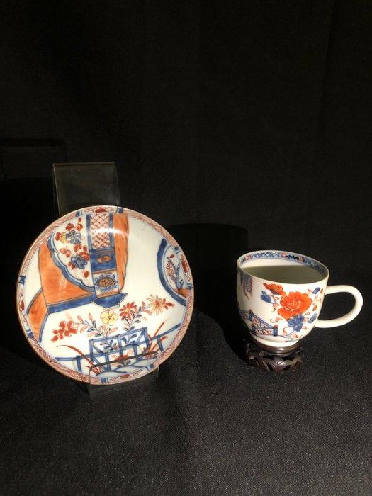 Bowl, Saucer (2) - Porcelain - China - Kangxi (1662-1722)